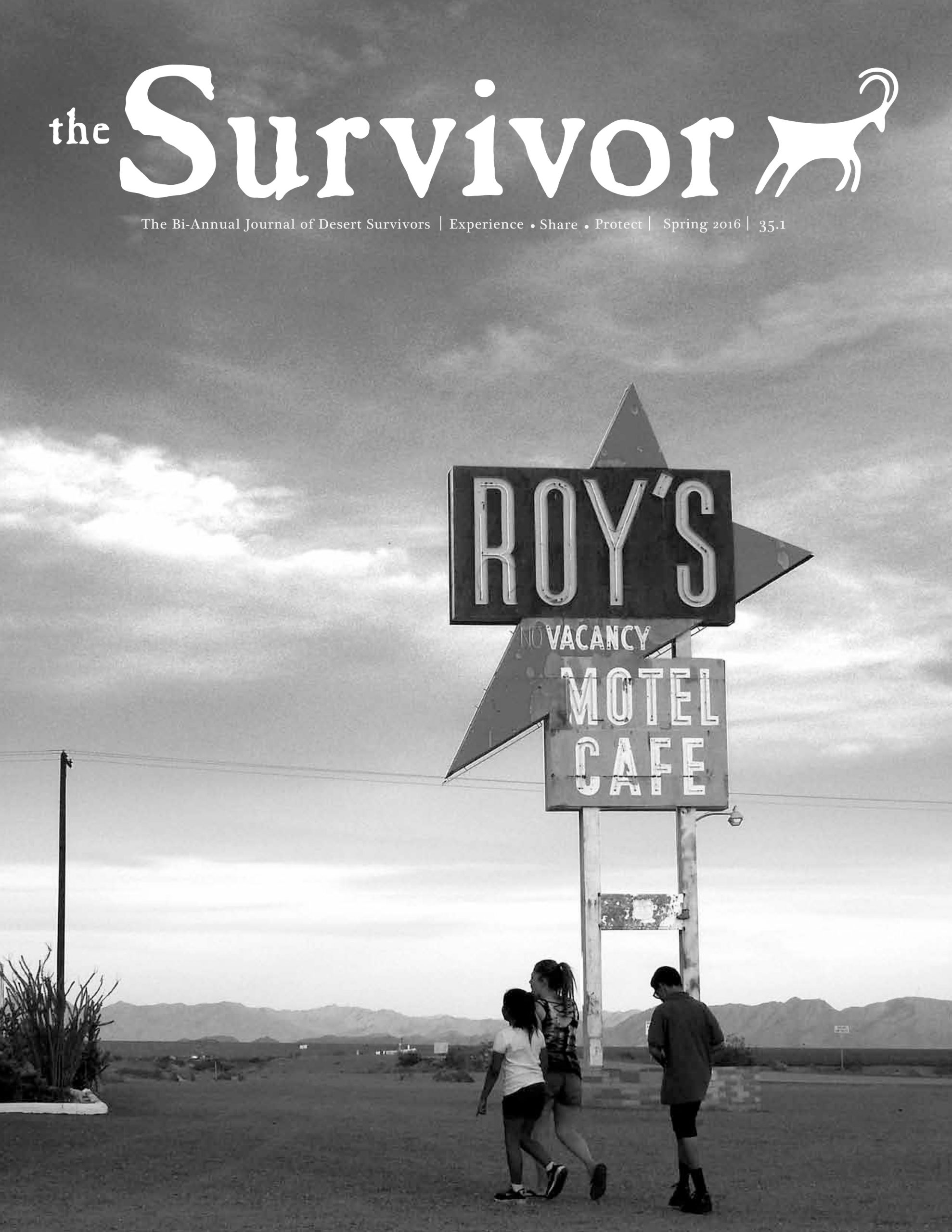 The Survivor Spring 2016 cover